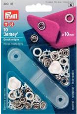 Prym NF-Druckknopf Jersey Zackenring MS 10 mm weiß