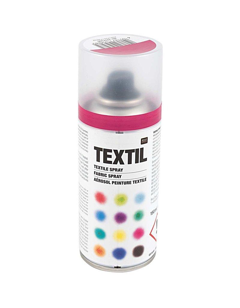 RICO Textil Spray Pink 150 ML Col. 596