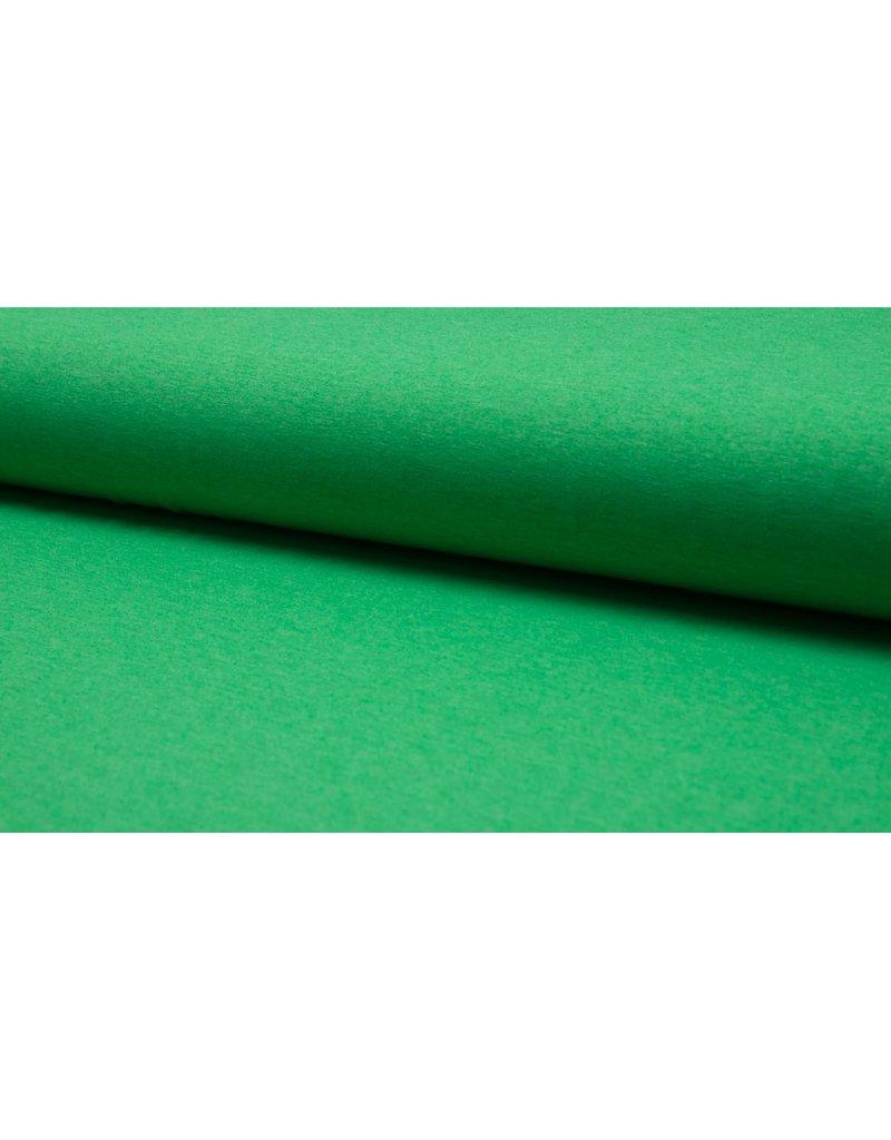 Baumwolljersey meliert green