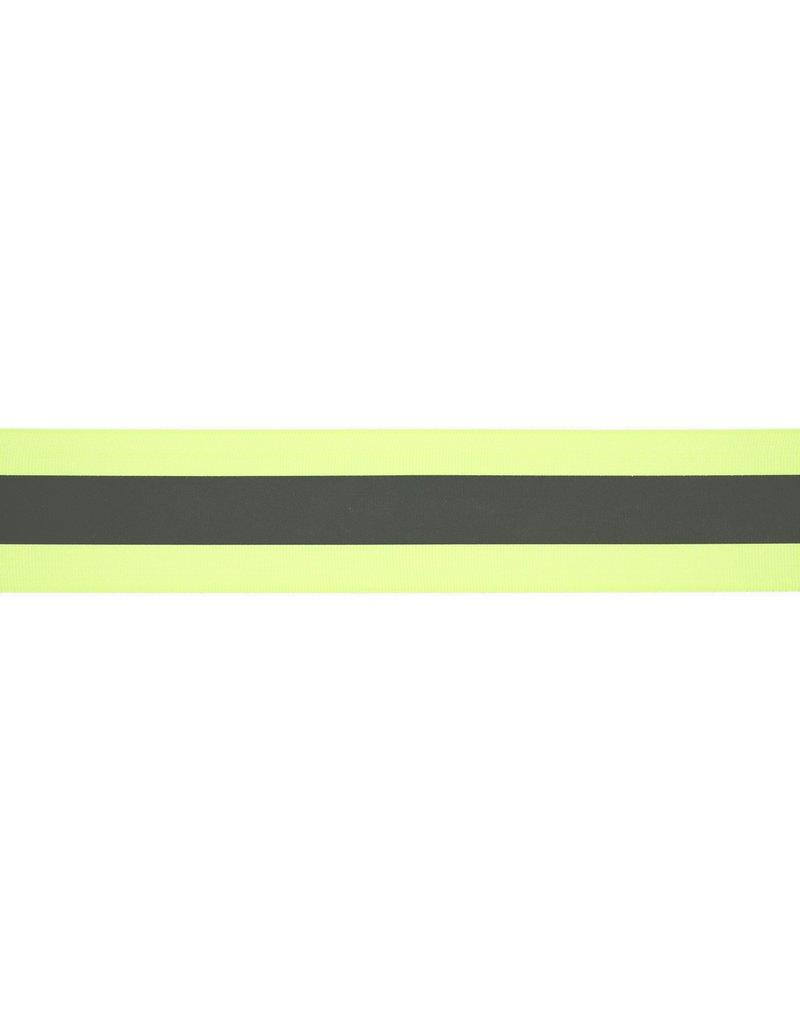 Reflektorband neon gelb reflektierend 50mm Col. 591