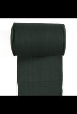 Bündchen Uni breitgerippt dunkelgrün