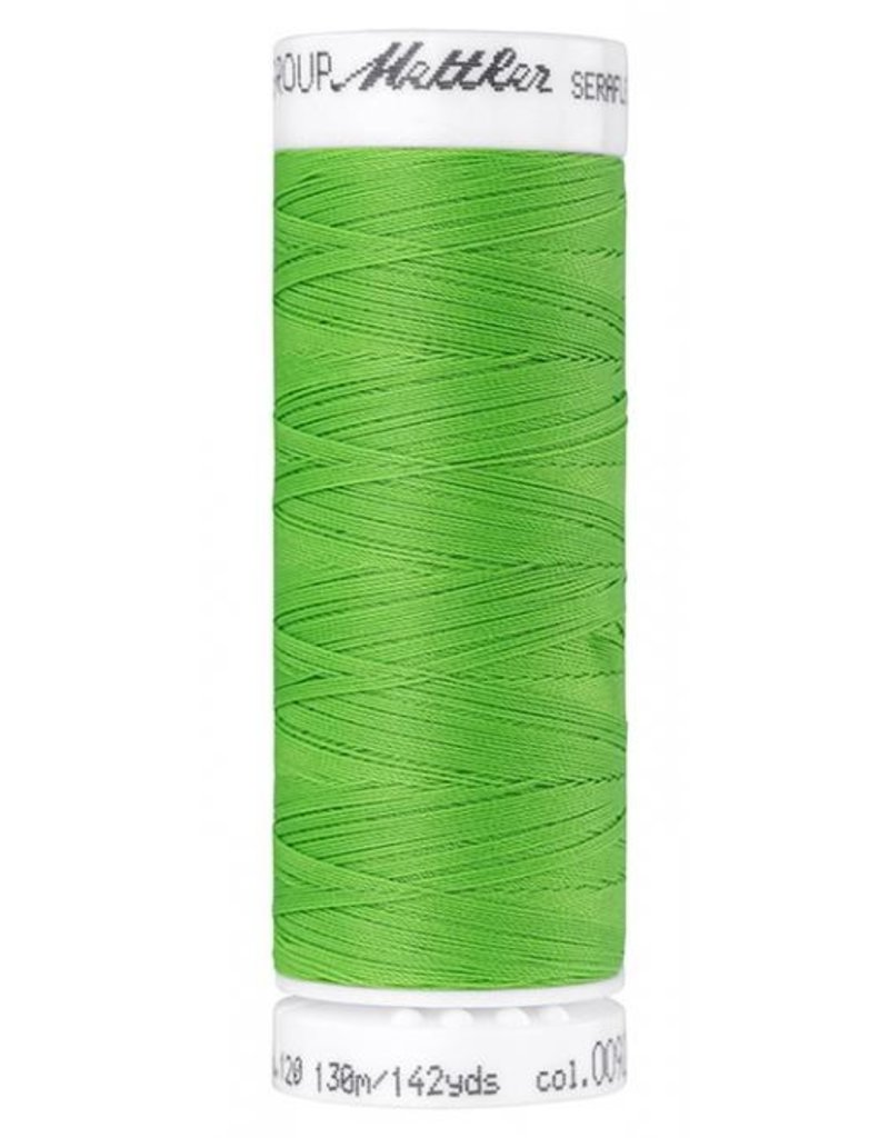 Mettler Seraflex Garn  grasgrün 130m Col. 0092