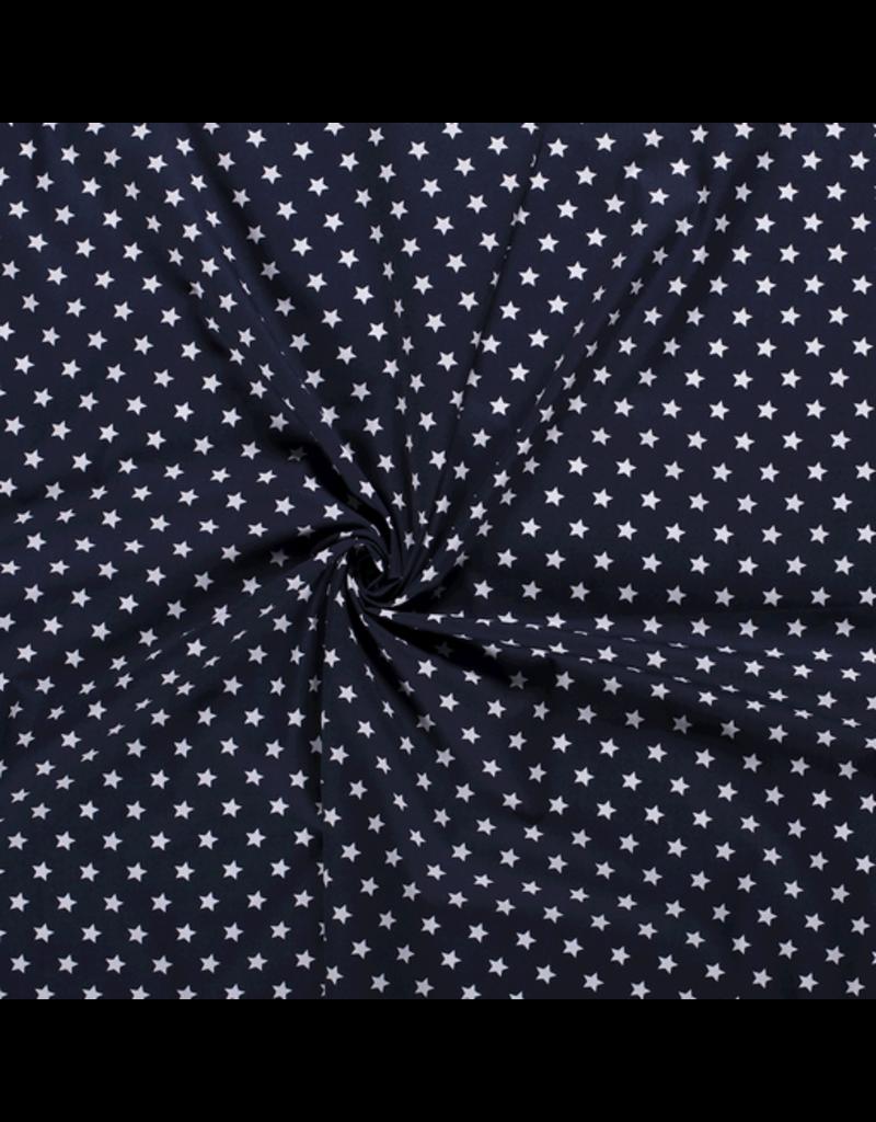 Baumwolle Motiv marine Sterne