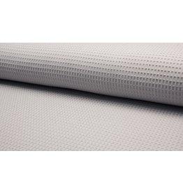 Waffel Uni silver grey