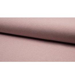 Sweat uni Melany meliert dusty pink