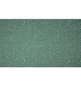 Jersey Motiv Dots dusty mint
