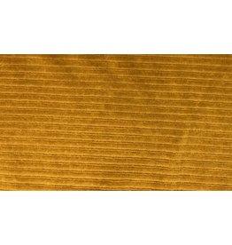 Cord dehnbar Jerseycord senf ocre