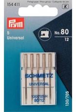 Prym Nähmaschinennadeln 130/705 Universal 80