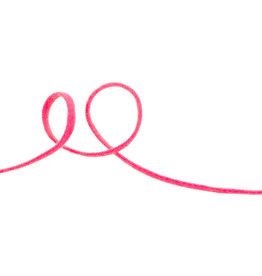VENO Gummiband Rundgummi  2mm pink