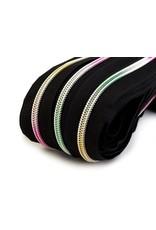 VENO SchrSpiralförmiger Reißverschluss mit Regenbogeneffekt