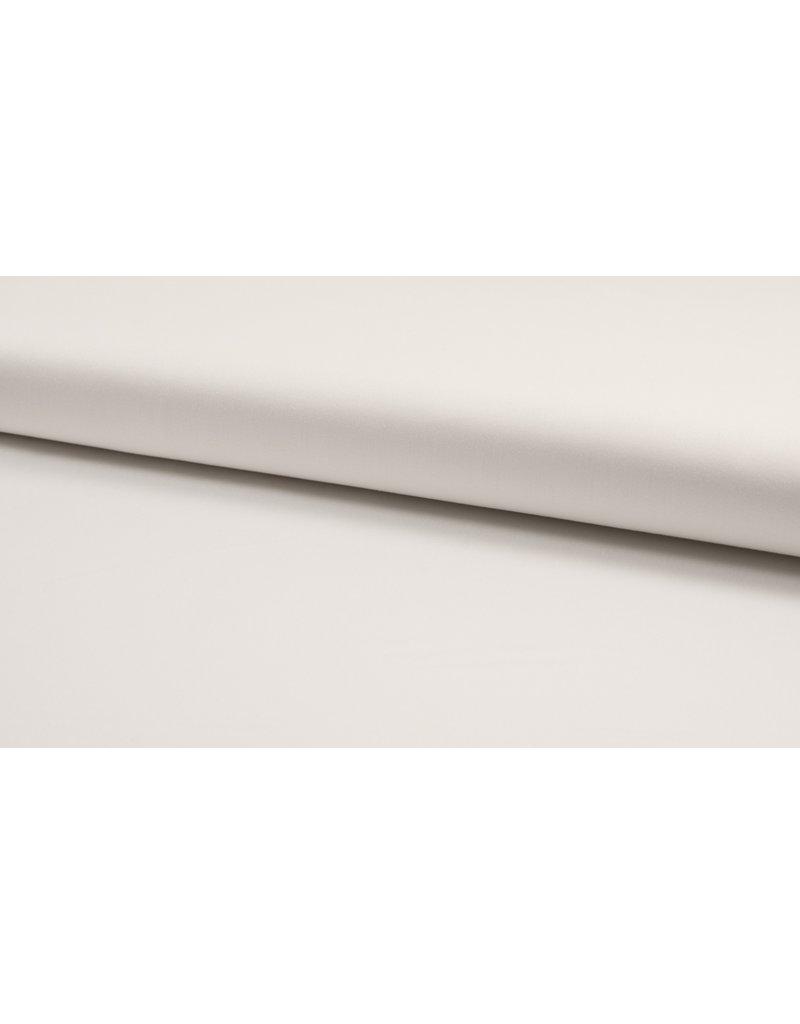 Baumwoll-Satin uni optical white