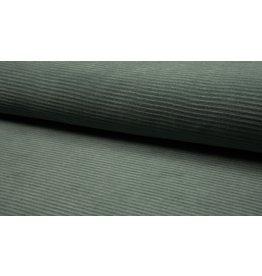 Cord dehnbar Jerseycord dusty mint