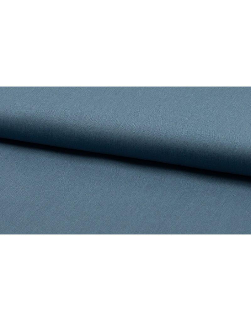 Baumwolle Uni blue