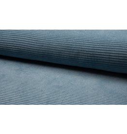 Cord dehnbar Jerseycord blue hellblau