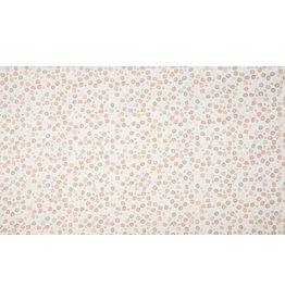 Baumwolle Motiv Dots old rose organic