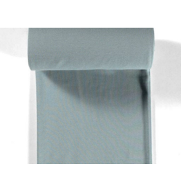 Bündchen mint dusty mint Streifen 2mm Strickschlauch
