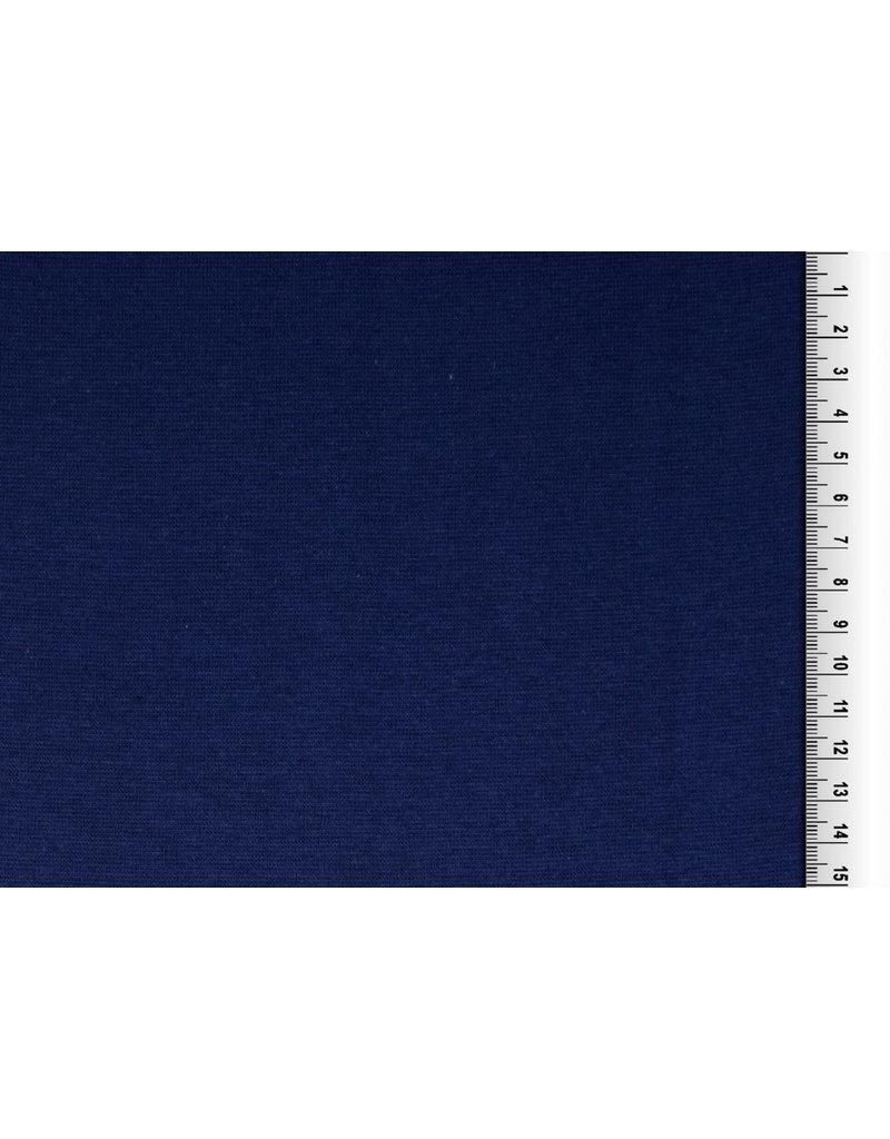 Bündchen Strickschlauch Uni blau SH
