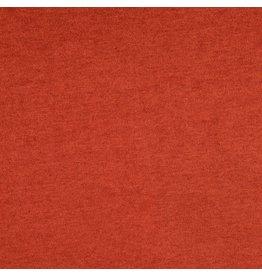 Viskosestrick Jersey meliert rost rot orange