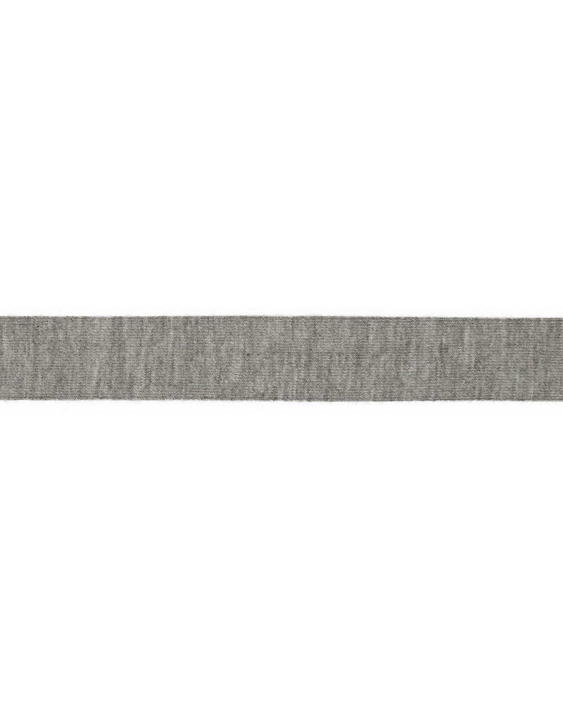 VENO Jerseyschrägband 40/20 hellgrau meliert