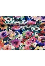 Baumwolle Kurt Frowein Floral Fancy multicolor Blumen bunt