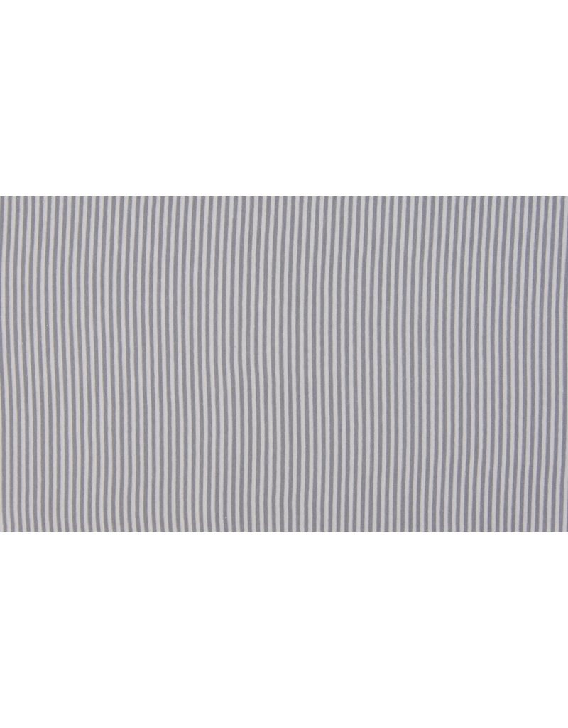 Bündchen grau silber grau Streifen Strickschlauch 3mm