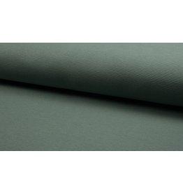 Waffel Jersey uni dusty mint