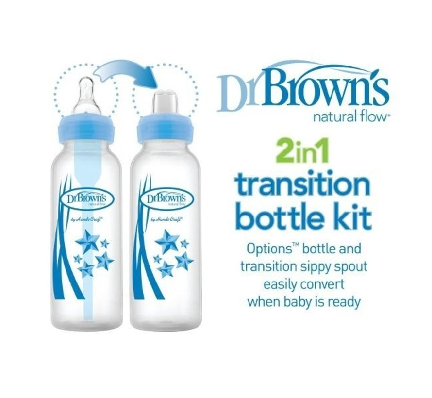 Dr. Browns Transition Fles 250ml