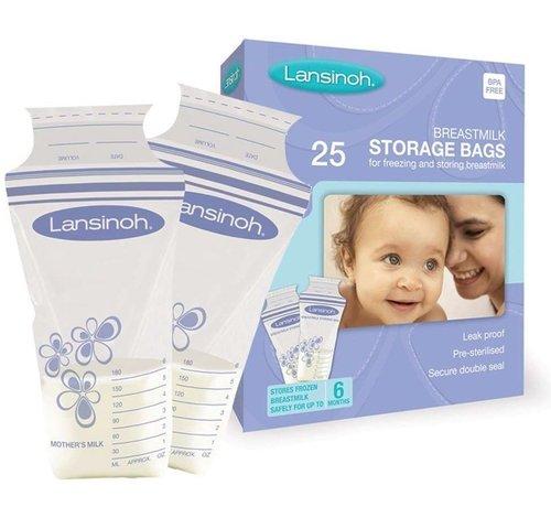 Lansinoh Lansinoh moedermelk bewaarzakjes 25 stuks