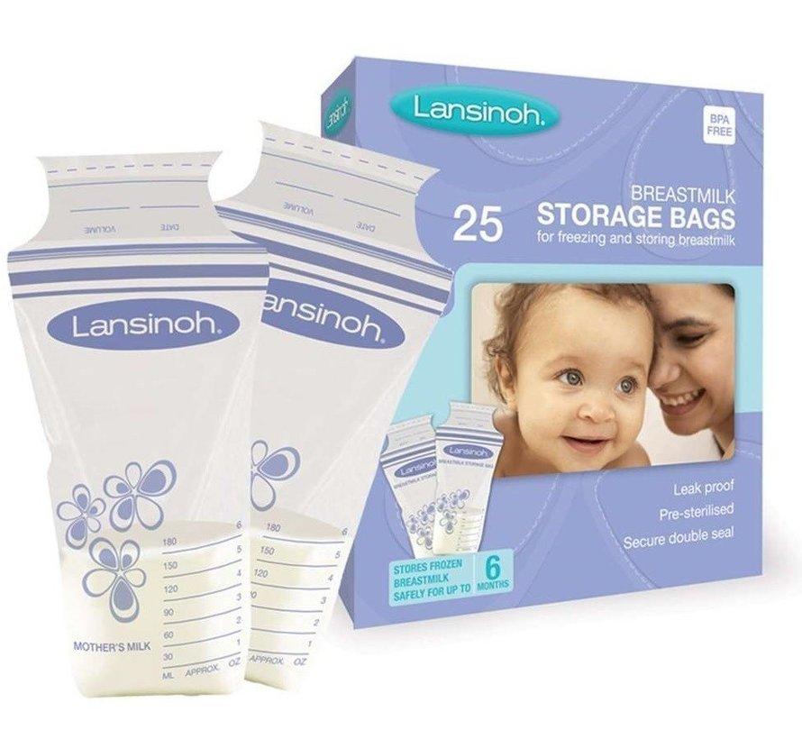 Lansinoh moedermelk bewaarzakjes