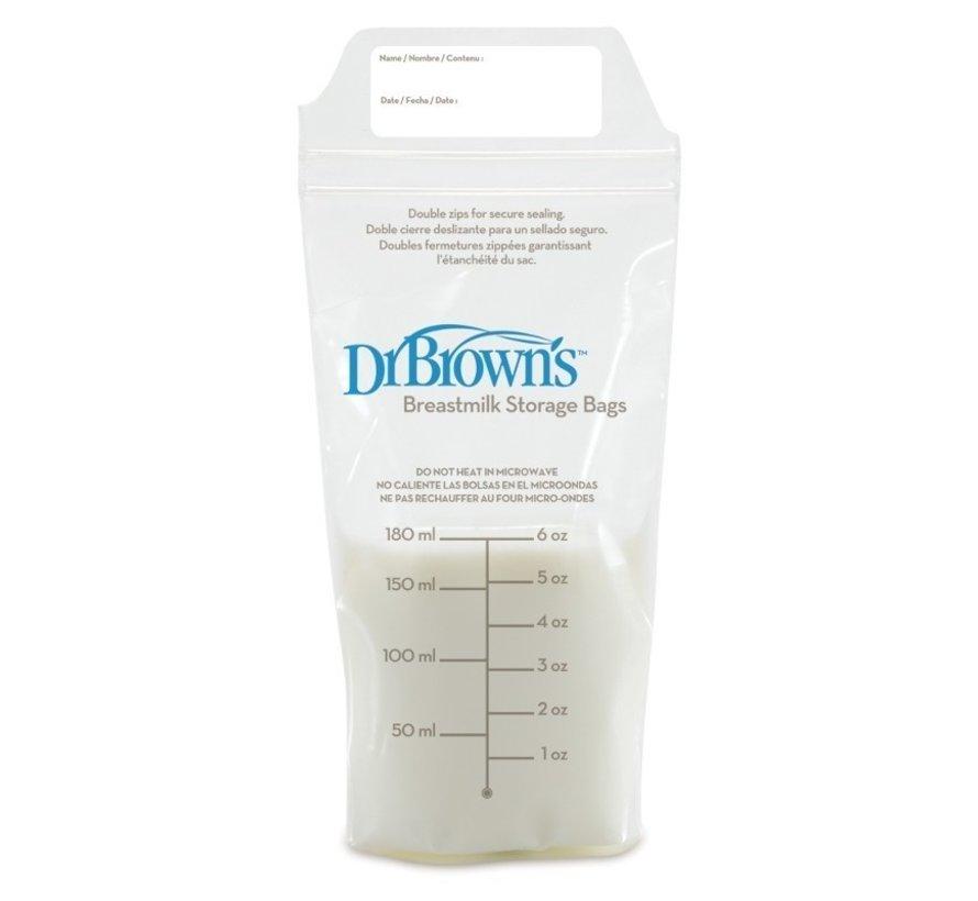 Dr Browns Moedermelk bewaarzakjes (25 stuks)
