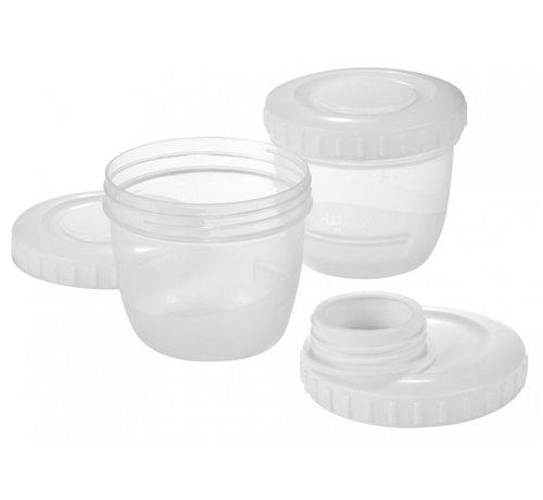Difrax Difrax Kolfaansluiting inclusief moedermelk bewaarbakjes