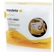 Medela Medela Quick Clean Magnetronzakken 5 stuks