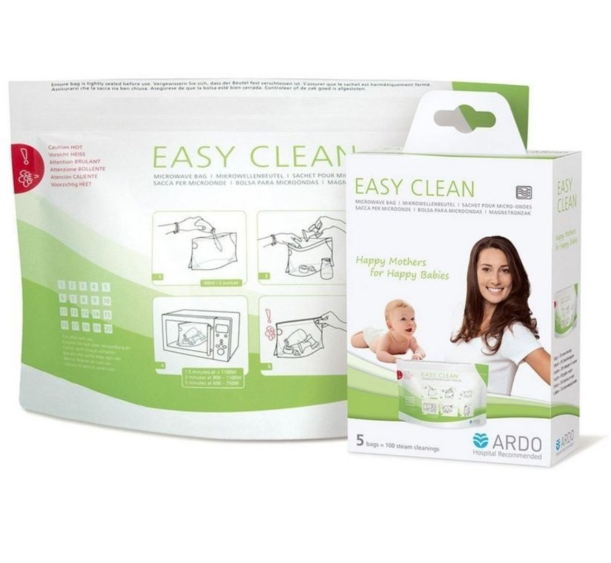 Ardo Easy Clean magnetronzakken (5 stuks)