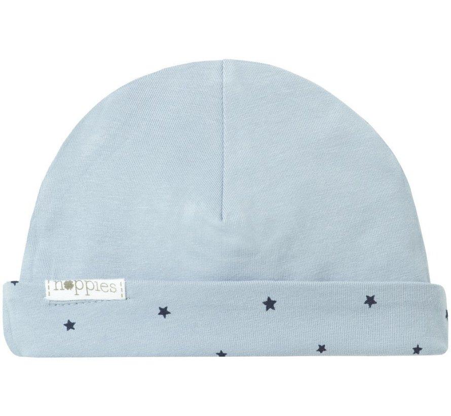 Noppies Babymuts Nembro Grey Blue