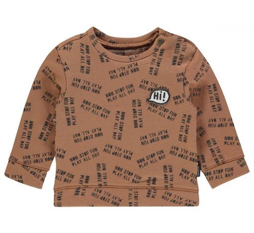 Noppies Noppies Sweater Pascoe Washed Wood-50