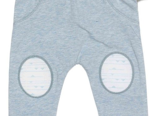 Snoozebaby Snoozebaby Suave Pants Fading Blue Uni