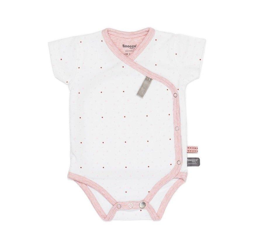 Snoozebaby Romper Light Pink SS