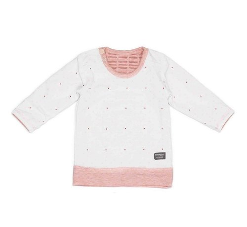 Snoozebaby Snoozebaby T-shirt LS Light Pink Reversible
