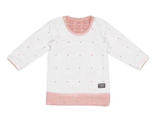 Snoozebaby Snoozebaby T-shirt LS Light Pink Reversible