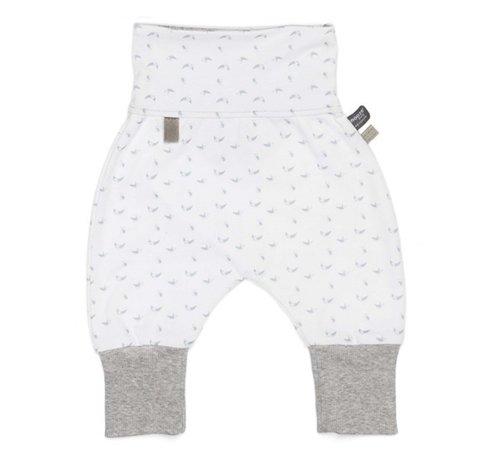 Snoozebaby Snoozebaby Baggy Pants Birds Light Grey