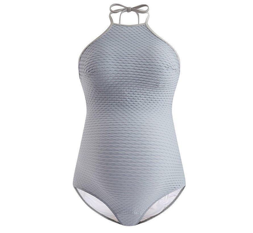 Cache Coeur Zwangerschap Swimsuit Cosmos Grey