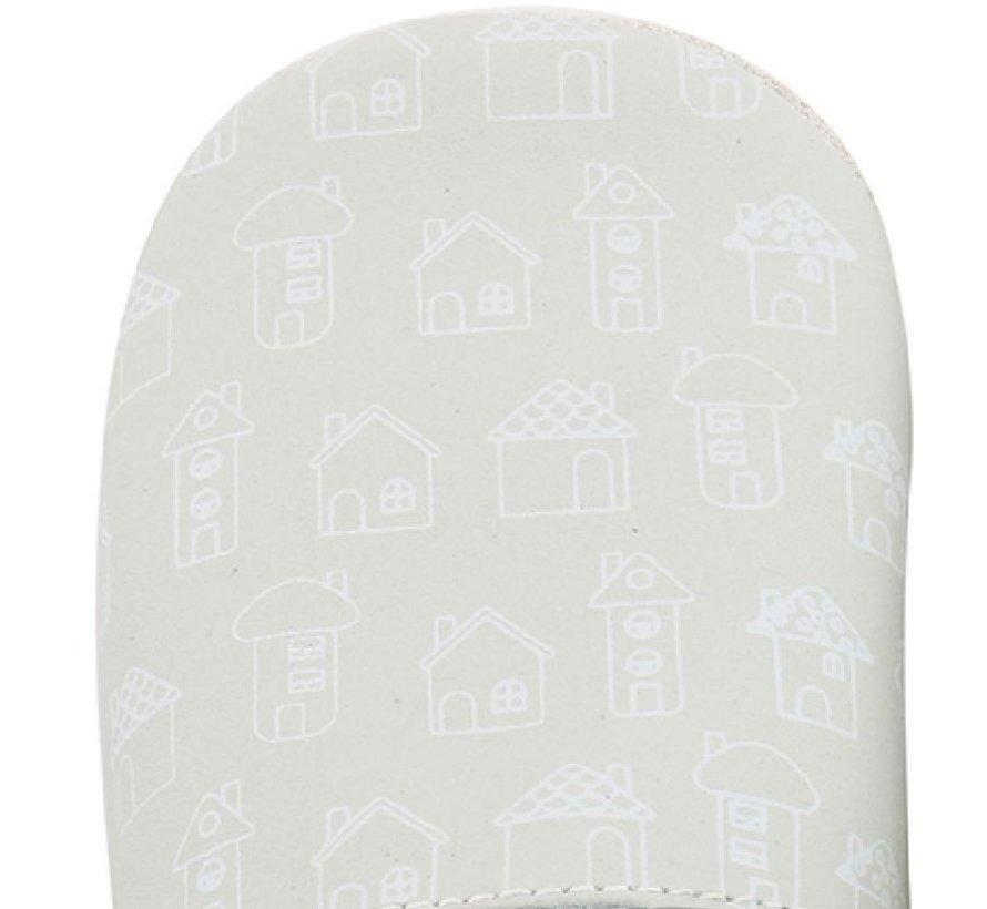 Bobux Soft Sole babyslofjes | Mint House Print 4413