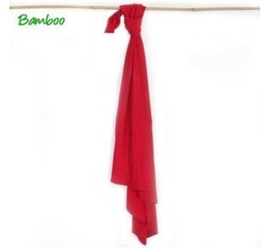 VipBlanket Swaddle Multidoek Bamboo Rood