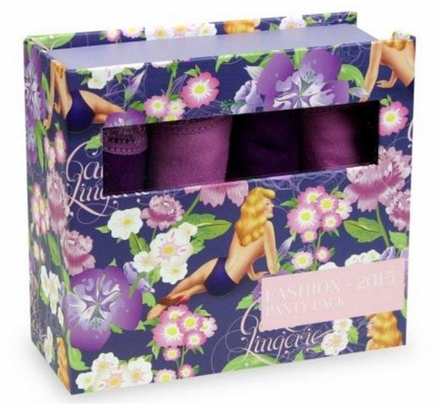 Cake Fashion 2015 Panty Pack | Giftbox 4 cotton briefs