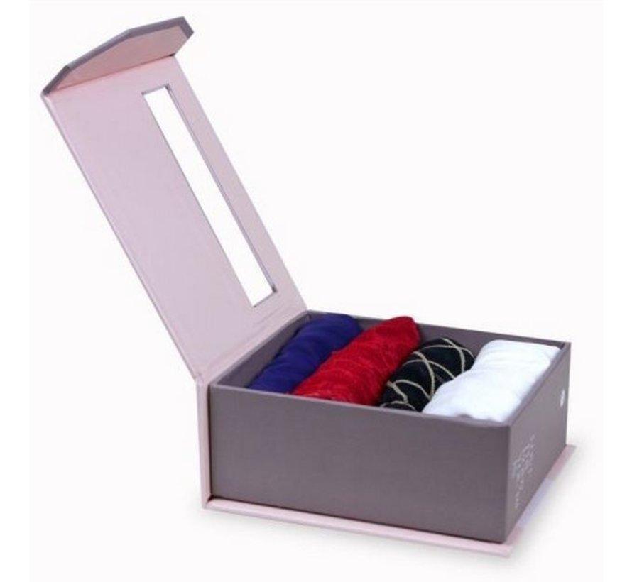 Cake Assorted Knicker box | Giftbox 4 slips