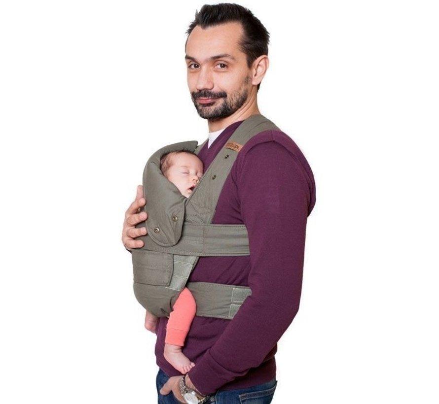 Marsupi Plus Olive | Babydraagzak