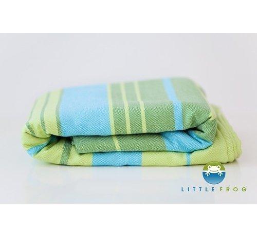 Little Frog Little Frog Bamboo Turquoise | Draagdoek met bamboe