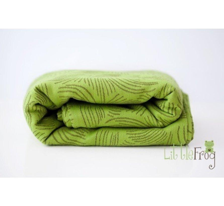Little Frog Forest Echo | Jacquard geweven draagdoek