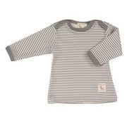 Pigeon Organics Pigeon Organics | T-shirt dunne Streep Grijs