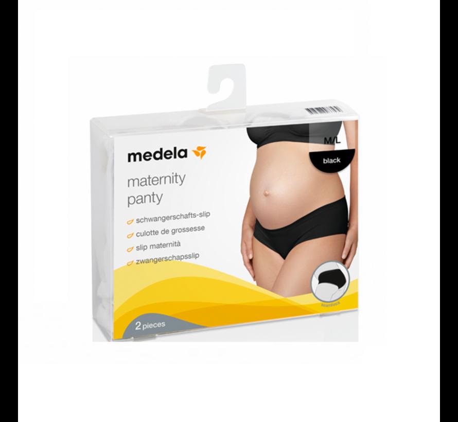 Medela Zwangerschapsslip Zwart | Per 2 verpakt